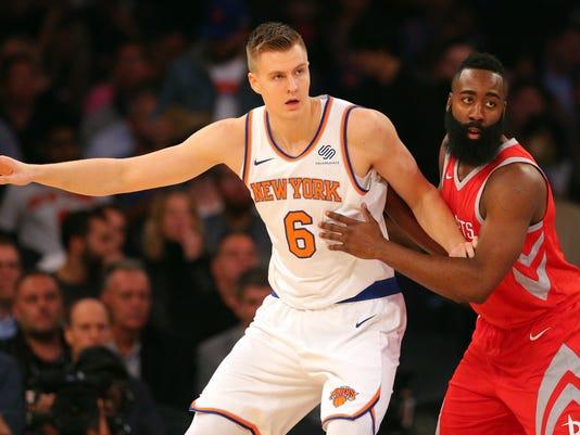 NBA: Houston Rockets at New York Knicks