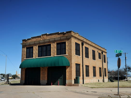 A former fire station at 441 Butternut St. is on the