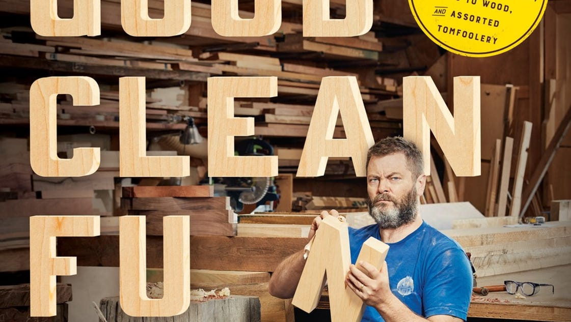 Nick Offerman wants you to start building with his new