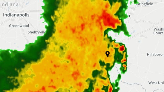Heavy rains and storms are expected during the Thursday morning commute