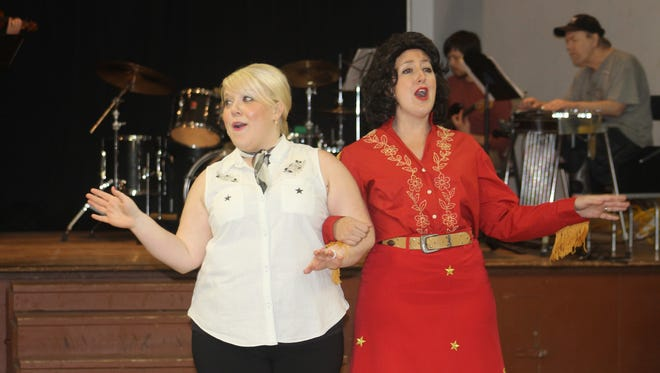 "Carolyn Johnson (left) and Taylor Pawley will reprise their roles in Keizer Homegrown Theatre's popular musical production of ""Always ... Patsy Cline"" opening Jan. 14 at the Kroc Center. The plot follows the true story of Cline's friendship with her devoted fan Louise Seger"