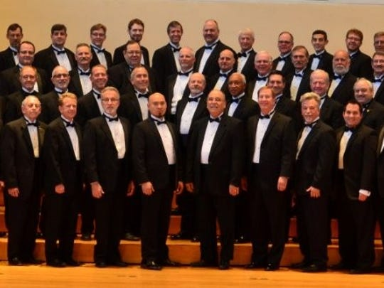 The Orpheus Male Chorus has grown from 28 to 84 members over the past six seasons. Director Brook Carter Larson is looking to add more voices.