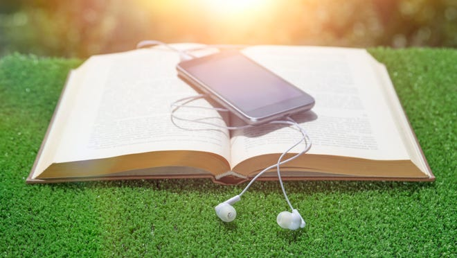 Access to audiobooks is easy with your smartphone.
