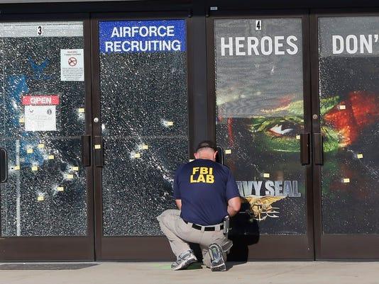 AP CHATTANOOGA SHOOTING A USA TN
