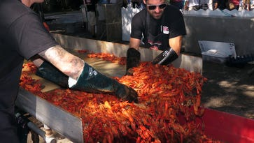 Friday at the 2014 Pensacola Crawfish Festival