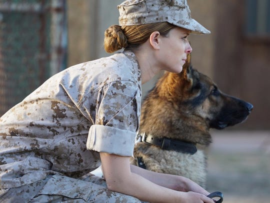 "Kate Mara stars in ""Megan Leavey,"" which will be shown"