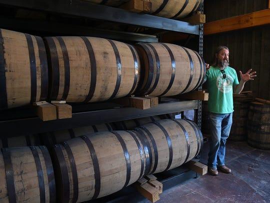 Leipers Fork Distillery owner and distiller Lee Kennedy