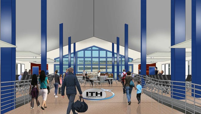 The Ithaca Tompkins Regional Airport will have six new gates in 2019.