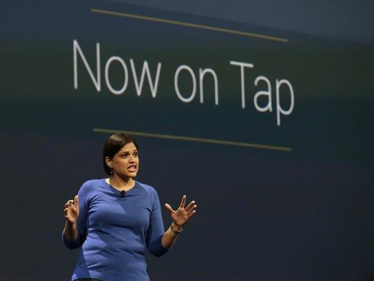 Aparna Chennapragada, director at Google Now, speaks