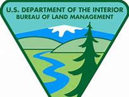 The logo of the Bureau of Land Management