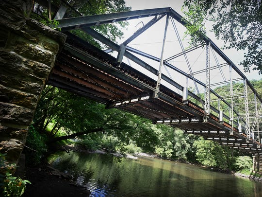Built in 1899 and closed to traffic for safety reasons in 2005, the Inwood Bridge near Swatara State Park will be relocated to make room for a new bridge. The original bridge won't go far and will become a monument to late 19th century bridge construction.