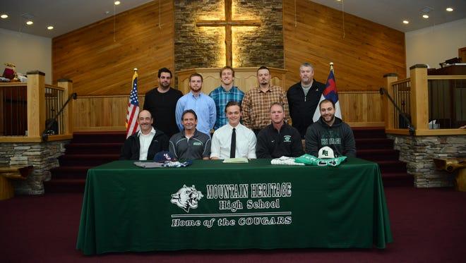 Mountain Heritage senior Colton Garland signed to play college baseball for South Carolina Aiken back in November.