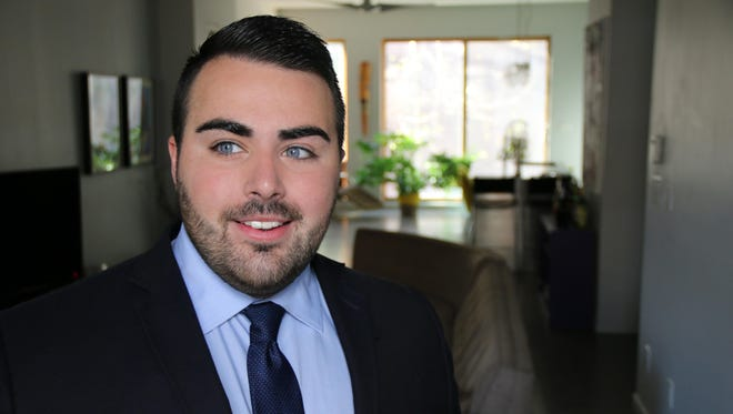 Christian Fuscarino, 25, is now leading New Jersey's largest LGBT rights organization.