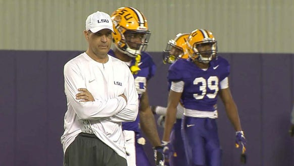 Kevin Steele, who was the LSU defensive coordinator