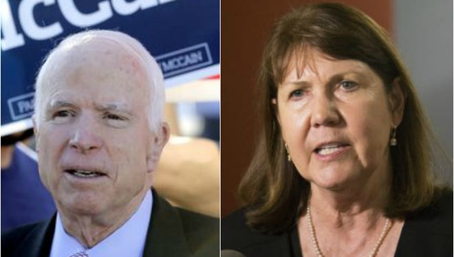 John McCain and Ann Kirkpatrick.