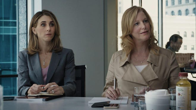 """Anna Gunn (""""Breaking Bad"""") is a banker negotiating the minefield of a high-stakes business in """"Equity."""""""