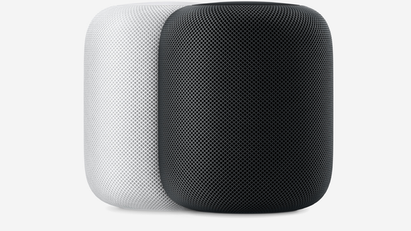 This is the first time we've seen the Apple HomePod