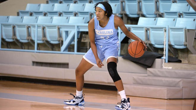 Former Jacksonville High standout Kennedy Todd-Williams said she has enjoyed workouts with the North Carolina women's basketball team so far.
