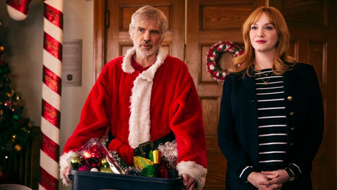 "A lump of coal in this year's Elvis list: Billy Bob Thornton and Christina Hendricks star in ""Bad Santa 2."""