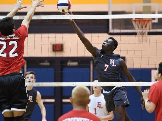 Bergen County volleyball tournament final