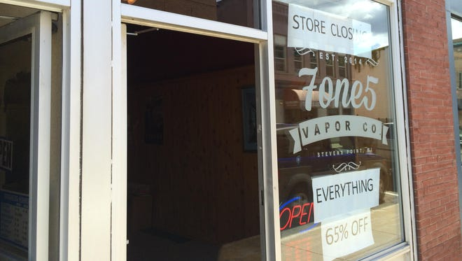 7one5 Vapor Co., 1307 Strongs Ave., is expected to close by next Saturday.