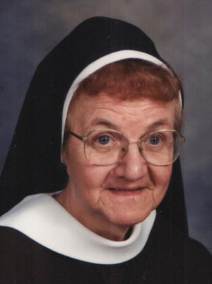 Sister Mary Saletinia, 92, died Sept. 24.