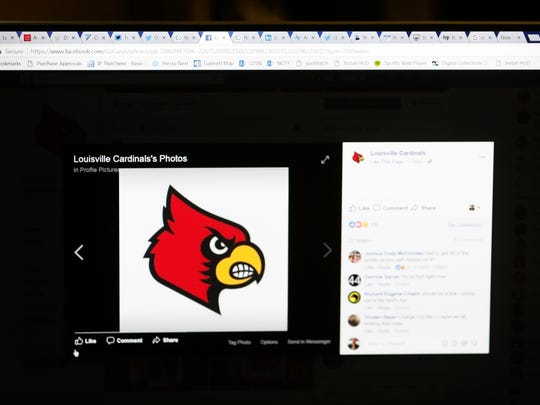 Louisville Athletics Facebook page updated its profile pic from an Adidas logo to the Cardinal bird.