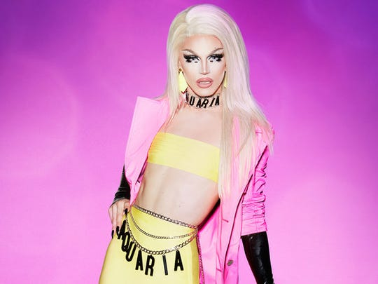 "Aquaria, from the 10th season of ""RuPaul's Drag Race"""
