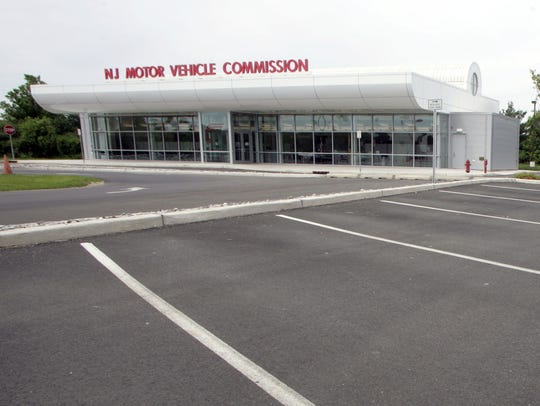 The New Jersey Motor Vehicle Commission office on Okerson Road in Freehold Township