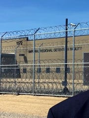 A private company called Management and Training Corp. runs the Imperial Regional Detention Facility in Calexico, Calif.