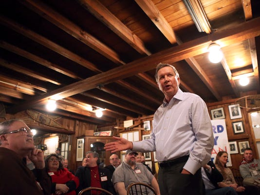 John Kasich New Hampshire Politics and Pie