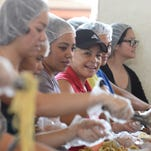 The Salvation Army's annual Thanksgiving Feast