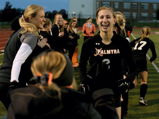 Palmyra's Jess Dembrowski, a junior midfielder, verbally committed to UConn on Friday.