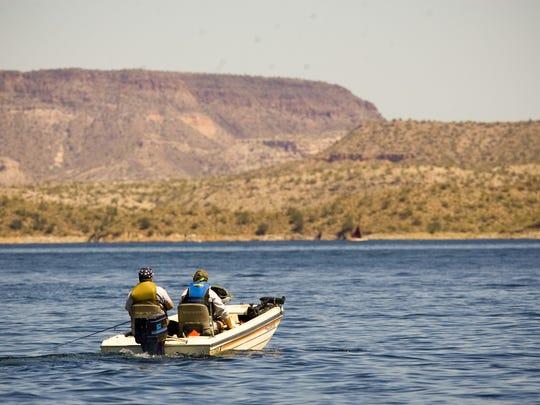 LAKE PLEASANT: Lake Pleasant is a 10,000-acre sapphire