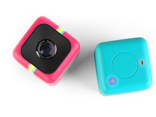 The Polaroid Cube+ camera.