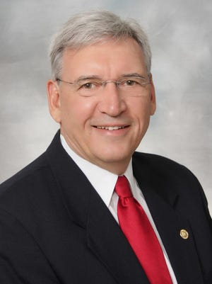 Ted Ohmart, former veteran councilman, was named citizen of the year 2014 in West Des Moines.