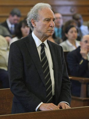 Matthew Israel, founder of the Judge Rotenberg Center, agreed to five years of probation to settle accusations that he interfered with an investigation of mistakenly administered skin-shock treatments, Dedham, Mass., May 25, 2011. He stepped down June 1.