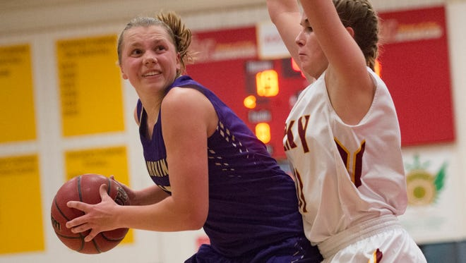 Delsie Johnson of Fort Collins is among area leaders in scoring.