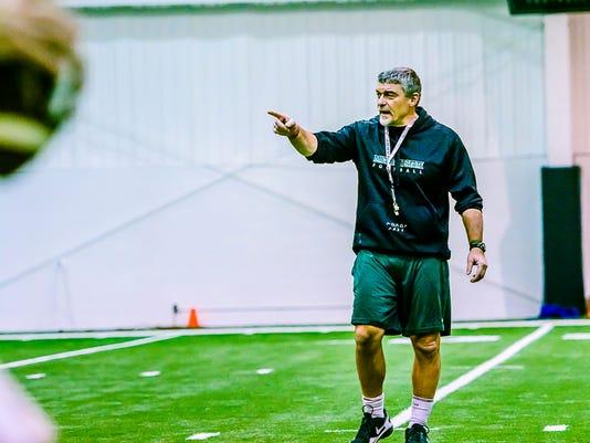 MSU Football Pre-Bowl Practice