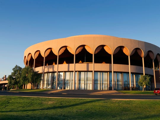 Grady Gammage Memorial Auditorium is considered to be the last public commission of architect Frank Lloyd Wright.