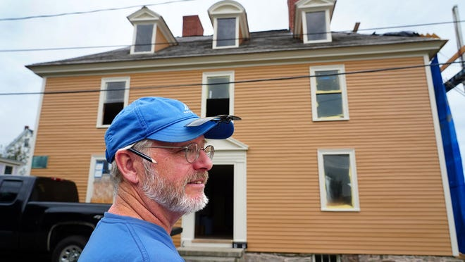 Master carpenter John Schnitzler, with decades of preservation experience, is working to restore the Tobias Lear House in Portsmouth. Lear served as the personal secretary to President George Washington, who visited the home during his 1789 New England tour.