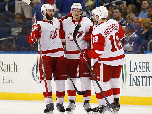 Detroit Red Wings v Tampa Bay Lightning - Game Five