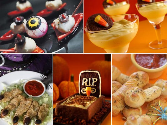 Halloween treats and eats