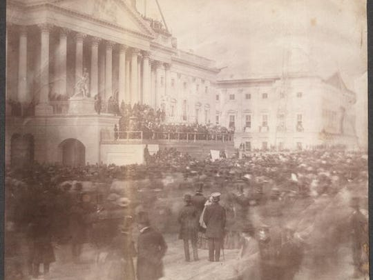 President James Buchanan's March 4, 1857, inauguration