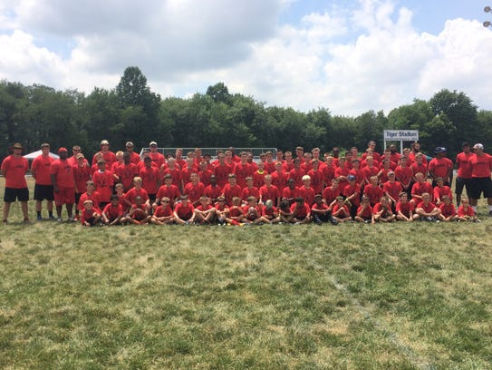 Ron's Rising Stars Football Camp took place this week