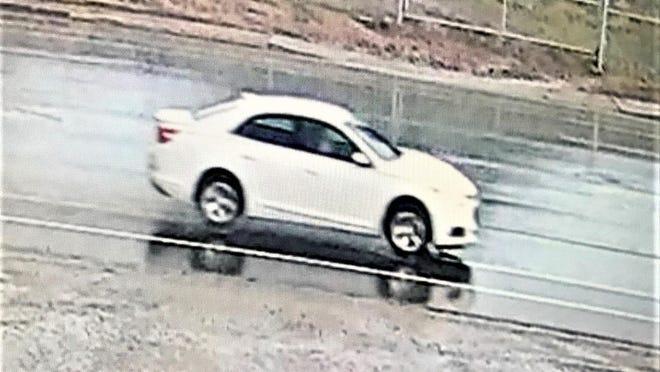 Police are searching for this vehicle in connection with a fatal motorcycle accident that occurred Friday at the corner of Santa Fe and Alan Hamel avenues.