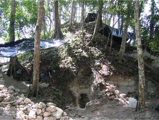Ancient Maya king had a luxury pleasure palace outside the city he ruled