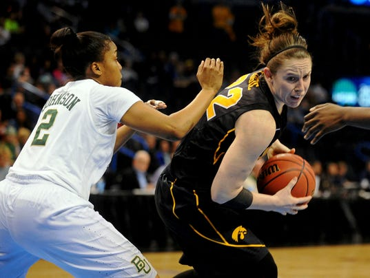 NCAA Womens Basketball: NCAA Tournament-Oklahoma City Regional-Iowa vs Baylor