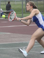 Redford Union's No. 1 singles player Abby Walters finished the regular season with an unbeaten record.