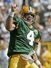 AP Brett Favre FILE - In this Sept. 23, 2007 file photo,